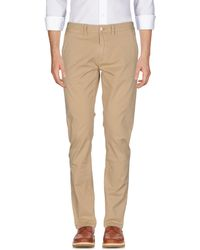 Sun 68 Casual Trousers - Natural