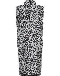Carmen March Knee-length Dress - Grey