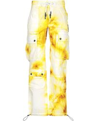 Palm Angels Casual Trousers - Yellow
