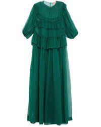 N°21 Vestito lungo - Verde