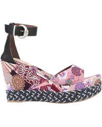 Fabi Sandals - Purple
