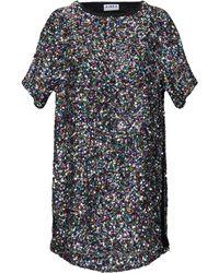 Ainea Kurzes Kleid - Mehrfarbig