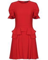Alexander McQueen Short Dress - Red