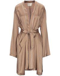Momoní Overcoat - Brown