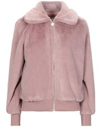 Anonyme Designers Teddy Coat - Pink