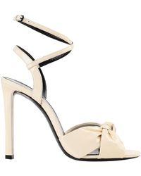 Saint Laurent Sandals - White