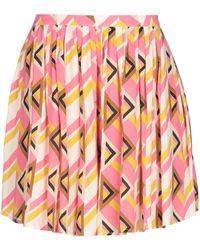 Suoli Mini Skirt - Pink