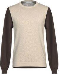 Grey Daniele Alessandrini Sweater - Natural
