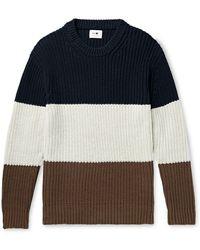 NN07 Pullover - Blau