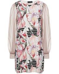 Satine Label Short Dress - White