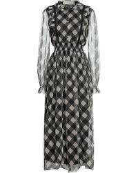 Shirtaporter Langes Kleid - Schwarz