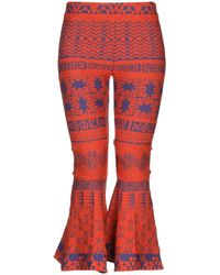 VIKI-AND Casual Trousers - Orange