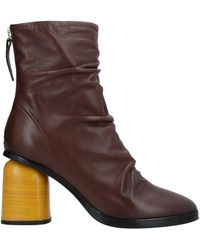 Halmanera Ankle Boots - Brown