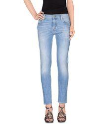 HTC Pantaloni jeans - Blu