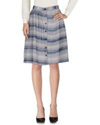 Le Mont St Michel - Knee Length Skirt - Lyst