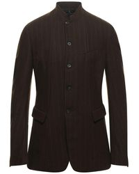 Masnada Suit Jacket - Brown