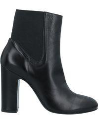 Piumi Ankle Boots - Black