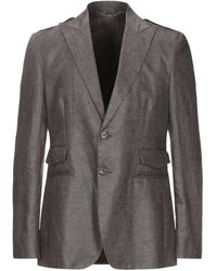 Bikkembergs Suit Jacket - Brown