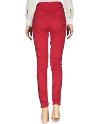 MY TWIN Twinset Trouser - Red