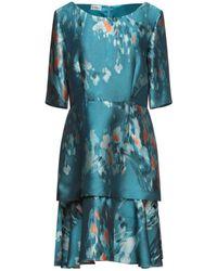 Philosophy di Alberta Ferretti Short Dress - Blue
