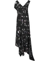 Preen Line Midi Dress - Black