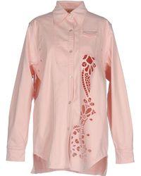 N°21 Denim Shirt - Pink