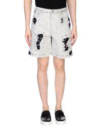 Golden Goose Denim Shorts - Grey