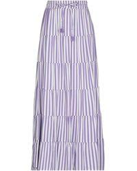Souvenir Clubbing Long Skirt - Purple