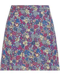 M Missoni Midi Skirt - Purple