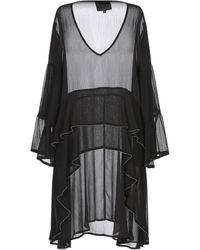 Hotel Particulier Short Dress - Black