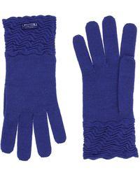 Armani Gloves - Blue