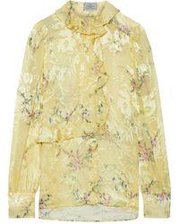 Preen By Thornton Bregazzi Shirt - Yellow