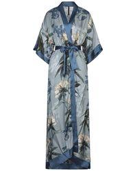 Manila Grace Overcoat - Blue