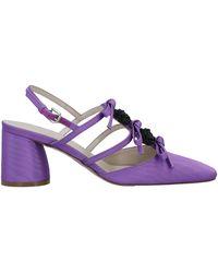 Delpozo Court Shoes - Purple