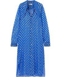 GmbH Vestido midi - Azul