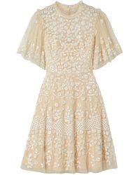Needle & Thread Short Dress - White