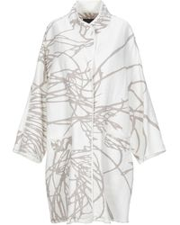 Oska Lange Jacke - Weiß