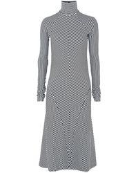 Haider Ackermann Midi Dress - White