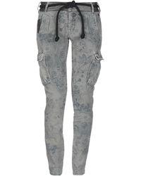 Berna Pantalones vaqueros - Gris