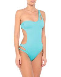 Miss Bikini Luxe Bañador - Azul