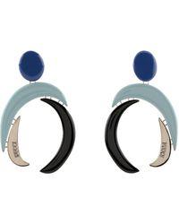 Emilio Pucci Boucles d'oreilles - Bleu