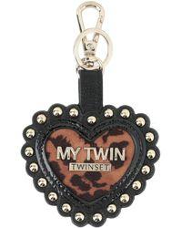 MY TWIN Twinset Key Ring - Black