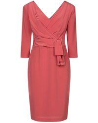Isabel Sanchis Midi-Kleid - Pink