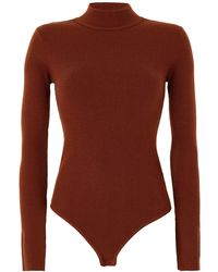 8 by YOOX Turtleneck - Brown
