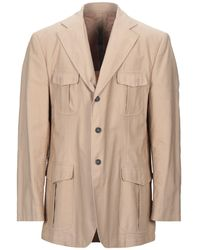 Lubiam Suit Jacket - Natural