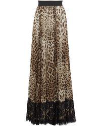 Dolce & Gabbana Long Skirt - Multicolor