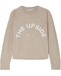 The Upside Sweat-shirt - Neutre