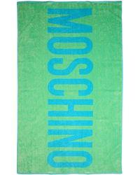 Moschino Serviette de plage - Vert