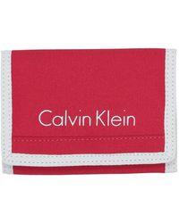 Calvin Klein Portefeuille - Rouge