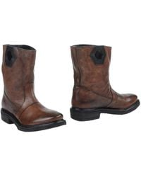 Bikkembergs Ankle Boots - Brown